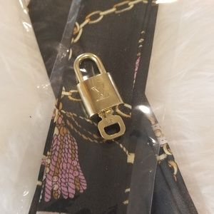 Authentic LV lock and key